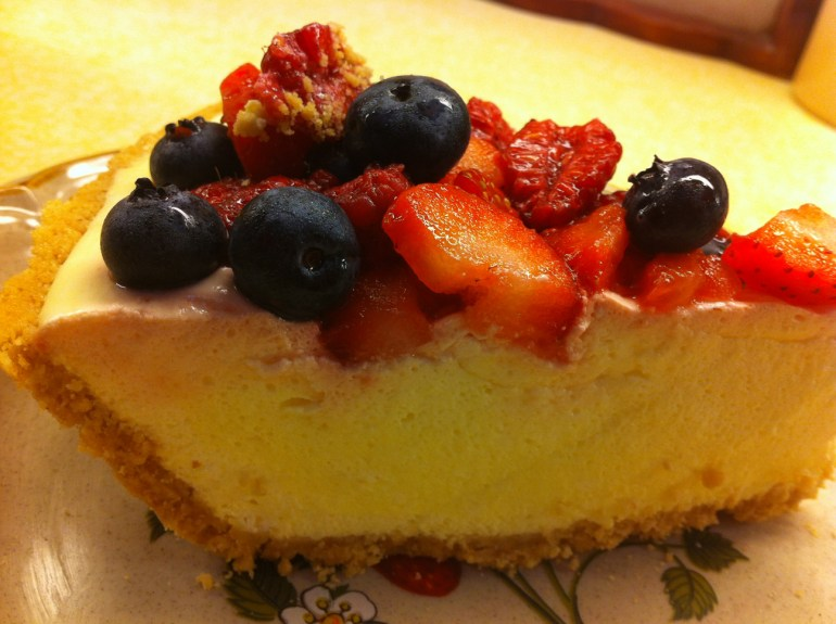 Akram's Ideas: Lemon Berry Pie