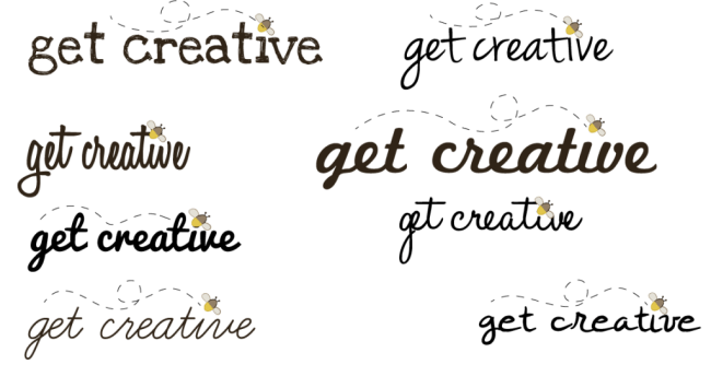 Get Creative logo ideas