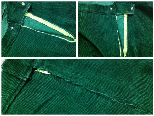 Nicest lap zipper I've sewn.