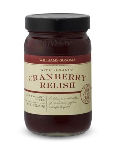 Apple Orange Cranberry Relish from William Sonoma