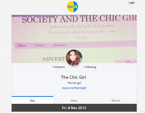 The Chic Girl Dayre