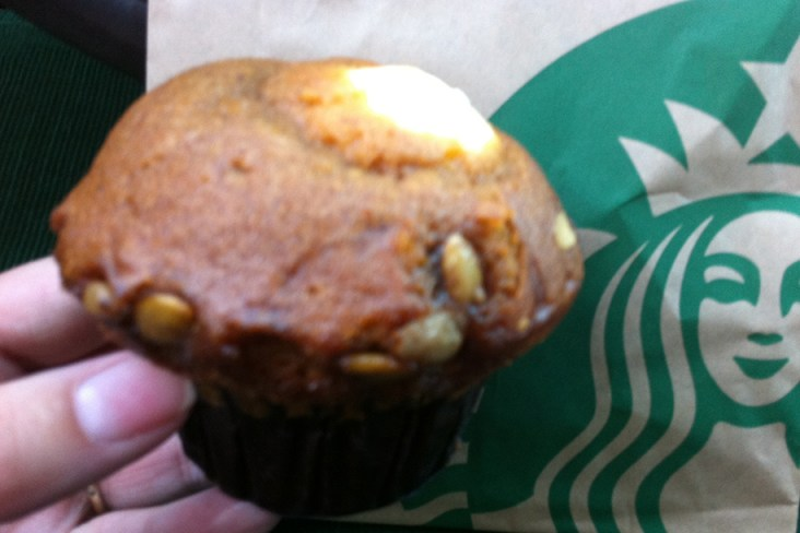 Star Bucks Pumpkin Muffin