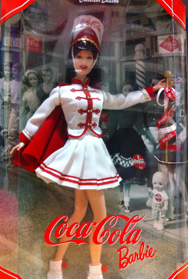 Marching Band Coke Cola Barbie