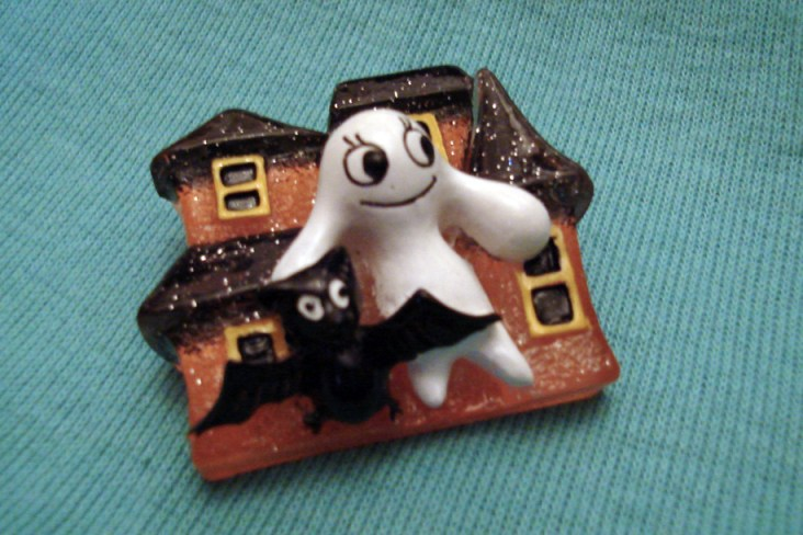Haunted House Brooch