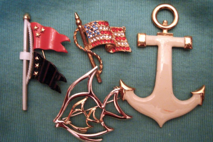 Nautical Brooches