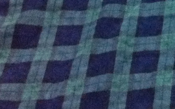I love the navy and green combo of this corduroy fabric.