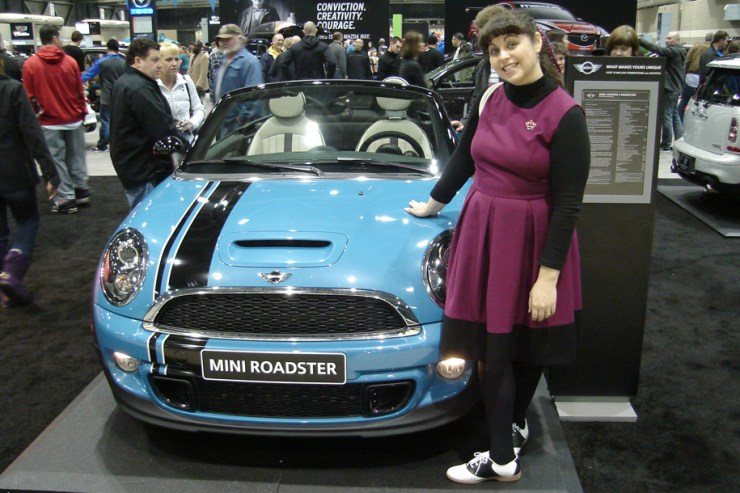 Me at the KC Auto show