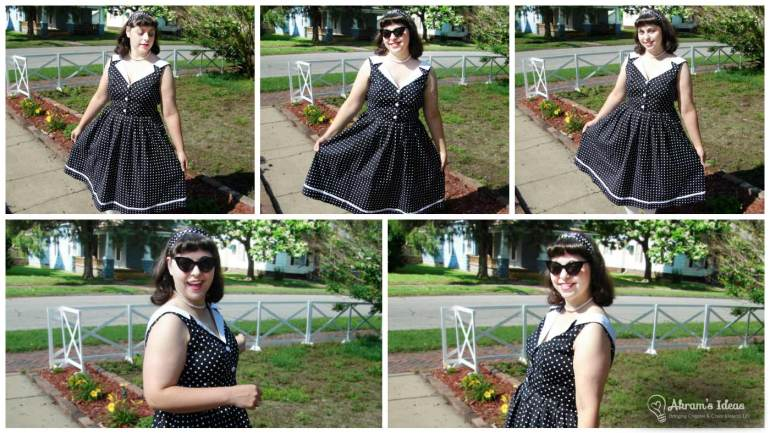 More views of my I Love You Brunches Dress