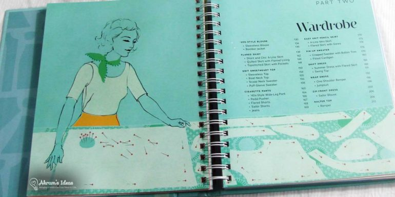 Pages from Gertie Sews vintage Casual