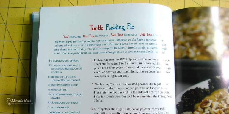 Dessert Mashups, book layout