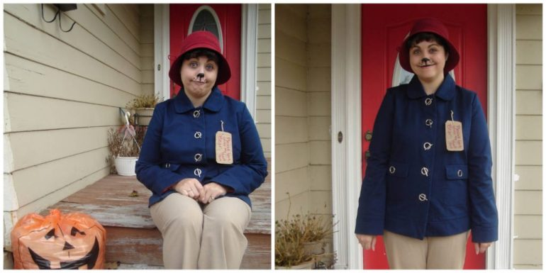 Me dressed up as Paddington Bear