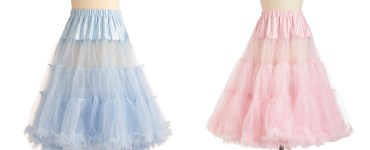 Akram's Ideas: Va Va Voluminous Petticoat by Modcloth