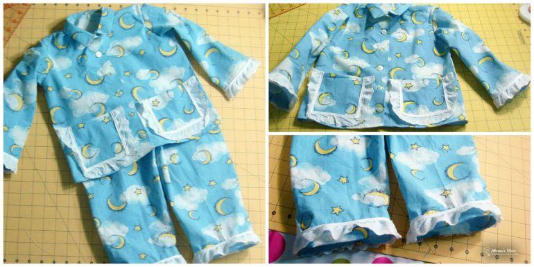 Akram's Ideas: Vintage Simplicity 5103 Pajama Completed