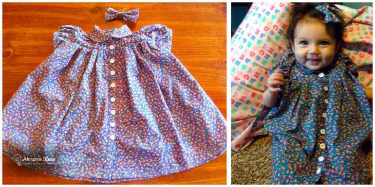 Completed Tabitha Dress