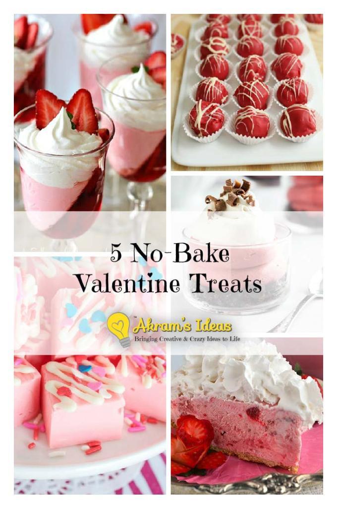 5 No Bake Valentine Treats
