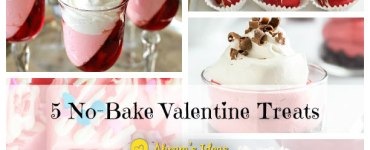 5 No Bake Valentine Treats