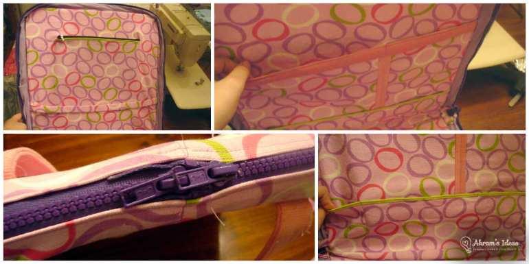 Pockets and zipper details