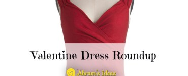 Akram's Ideas: Valentine Dress Roundup