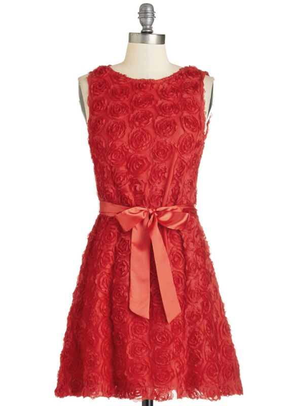 Everything's Coming Up Rosettes Dress by Modcloth