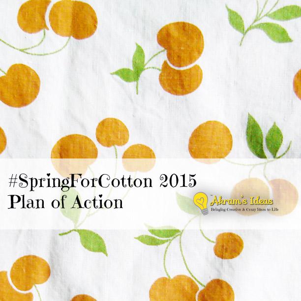 #SpringForCotton 2015 Plan of Action