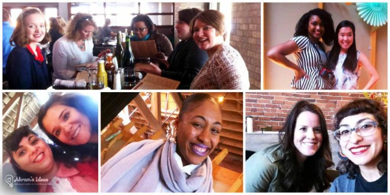 A few of the amazing ladies I connected with at #GBS2015