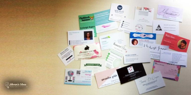Business cards I got from all the amazing bloggers at #GBS2015