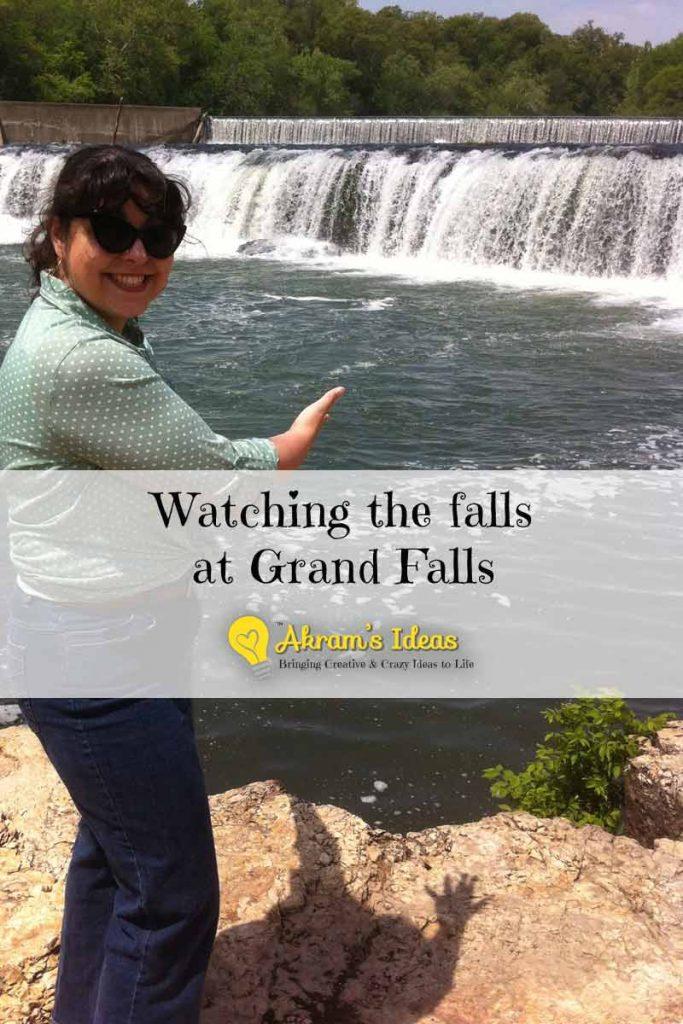 Akram's Ideas : Watching the falls at Grand Falls