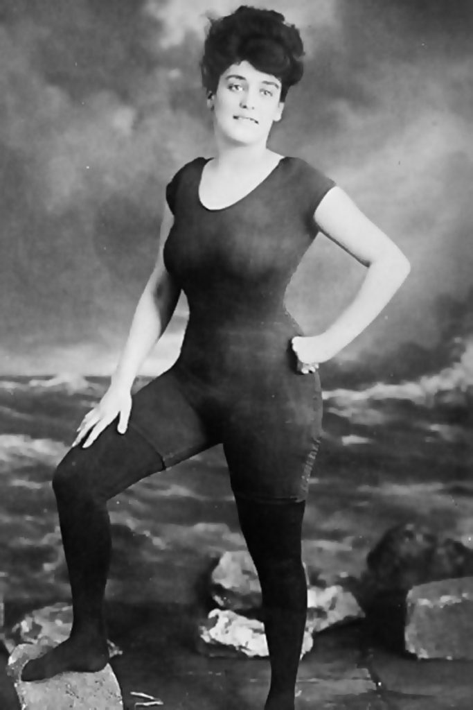 Annette Kellerman swimsuit - image courtesy of  the Library of Congress