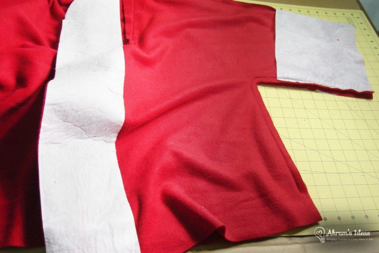 Outer coat with interfacing