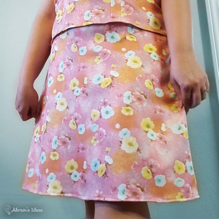 McCall's 8046 skirt, this was a really easy project.