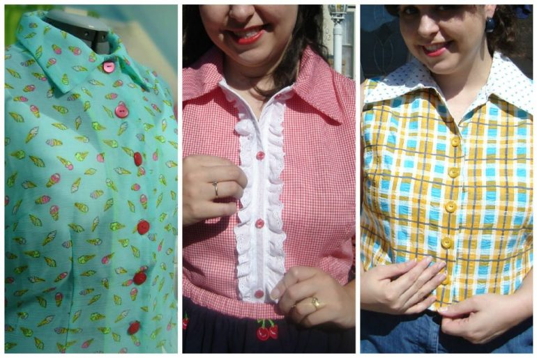 Button-Up Shirts I've made so far