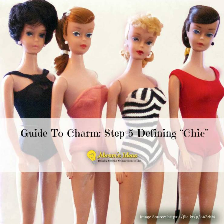 """Akram's Ideas : Guide To Charm: Step 5 Defining """"Chic"""""""