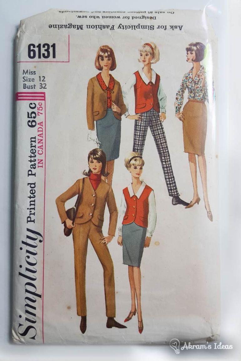 Simplicity 1960's Wardrobe