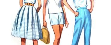 Akram's Ideas: Vintage Capsule Wardrobe Sew-Along