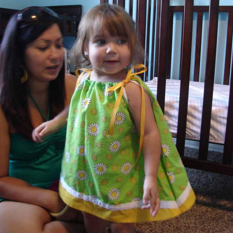 Layla seemed to like this dress