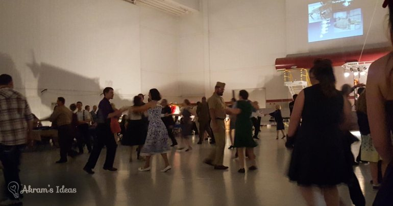 Akram's Ideas: Hangar Dance - swing dancing