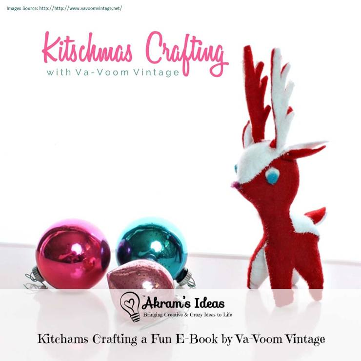 Akram's Ideas : Kitchams Crafting a Fun E-Book by Va-Voom Vintage