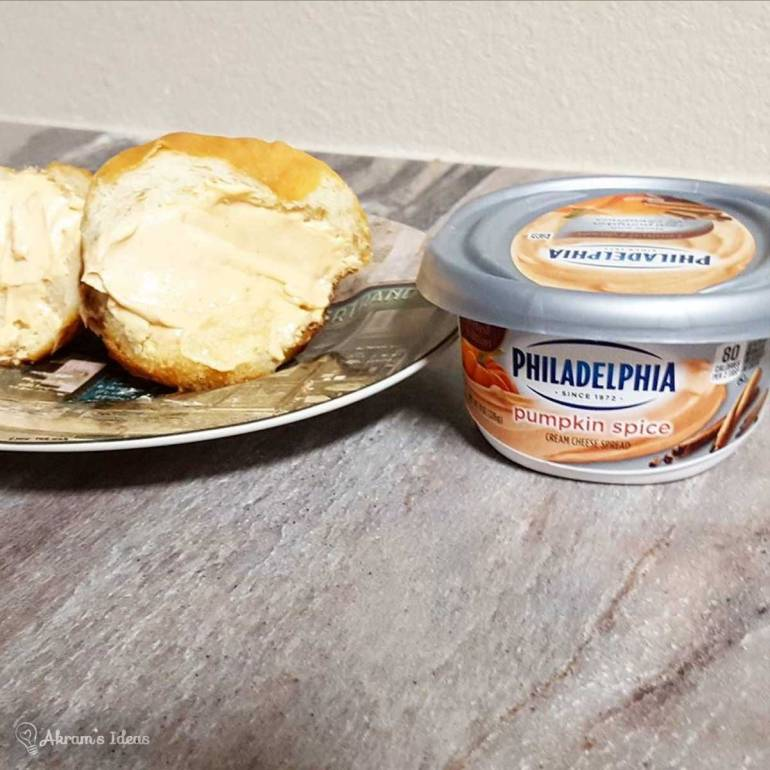 Philadelphia Pumpkin Spice Cream Chesse spread