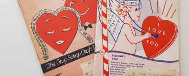 Akram's Ideas: Vintage Pack-o-Fun Valentine Crafts