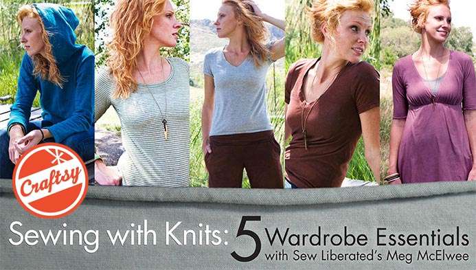 Sewing with Knits - Craftsy