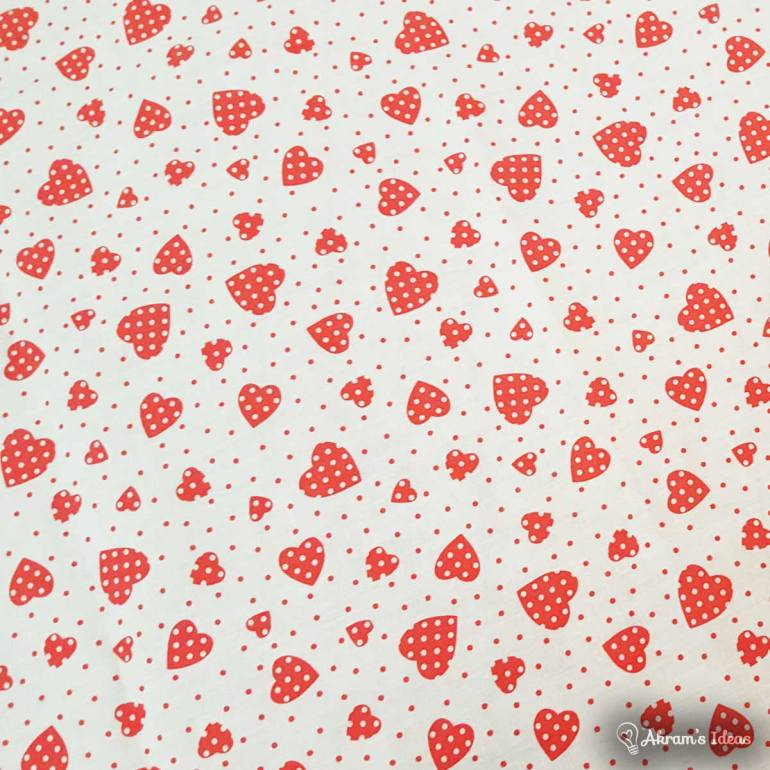 Akram's Ideas: Heart Fabric