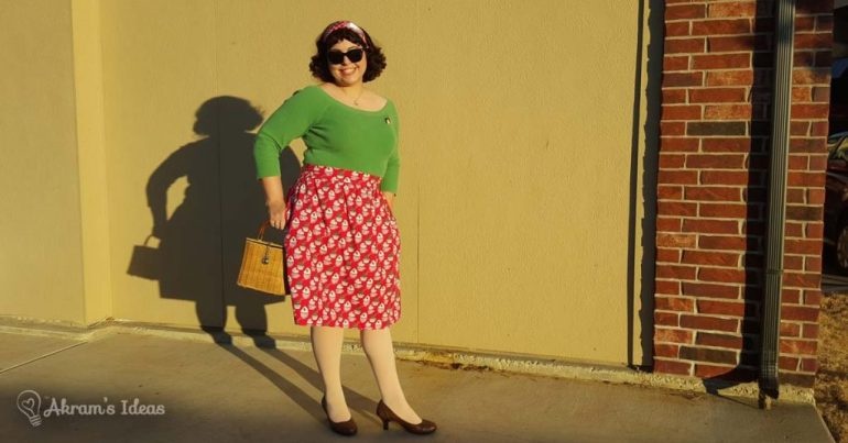 Akram's Ideas : Modcloth Baking Spirits Bright Skirt