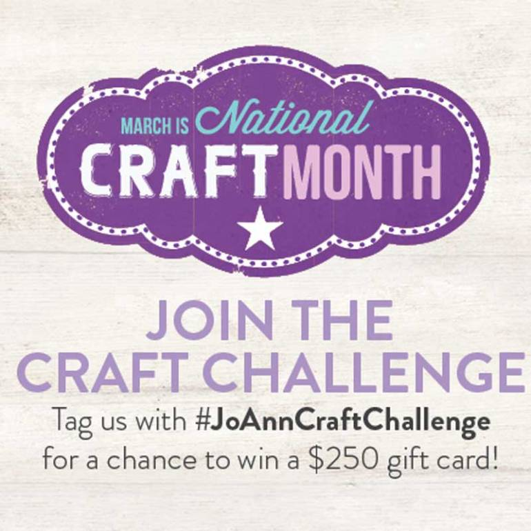 JoAnns Craft Challenge