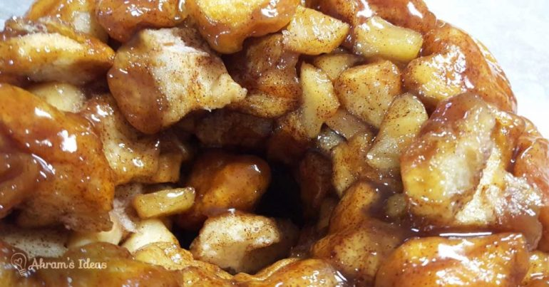 Akram's Ideas: Apple Monkey Bread