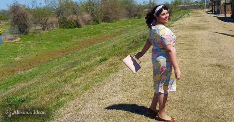 Akram's Ideas: Jersey Dress Simplicity 5556