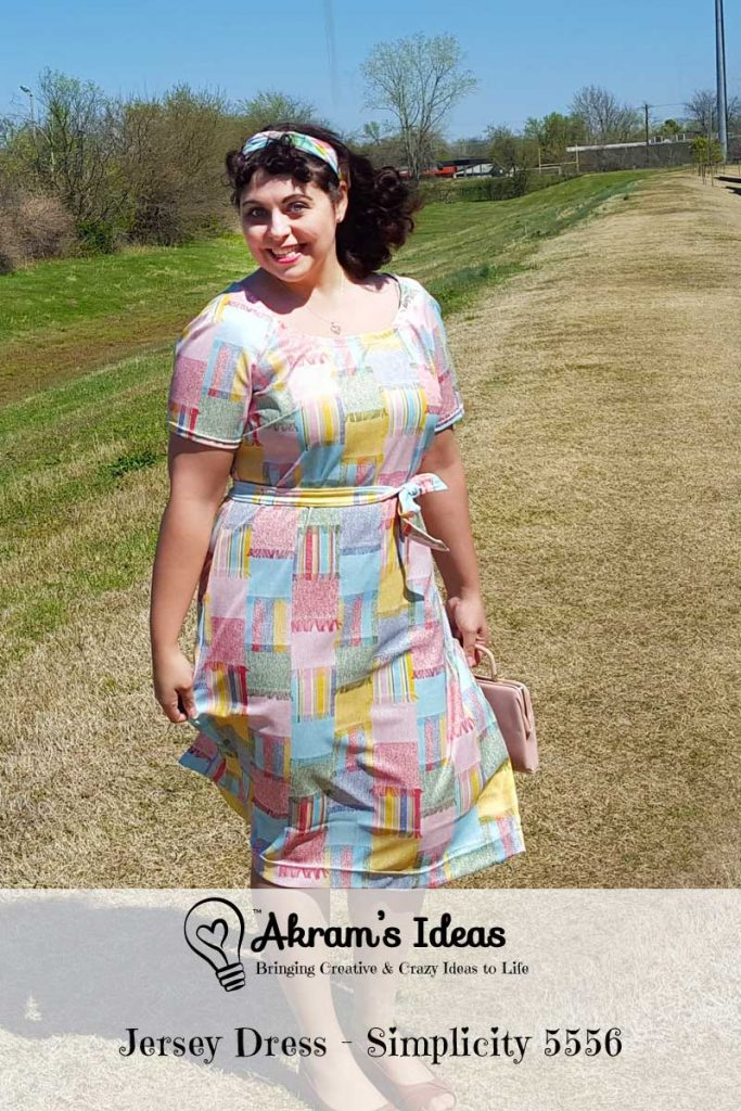 A quick review of my second #VintagePledge 2016 make using vintage Simplicity 5556 pattern.