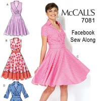 McCalls 7081 We Sew Retro Facebook Sew Along