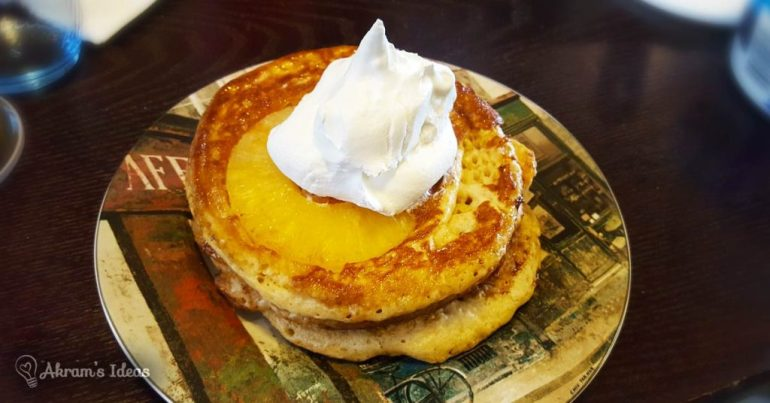 Akram's Ideas: Pineapple Upside Down Pancakes