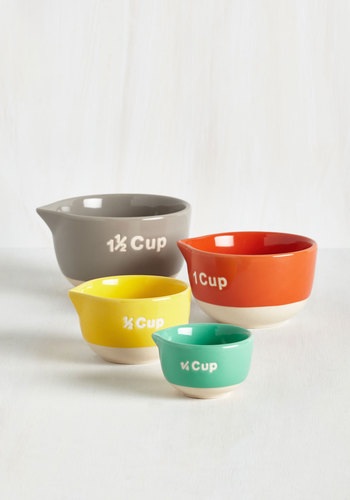 Modcloth Bake Day Measuring cups