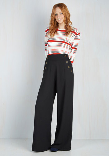 Modcloth Every Opportunity Pants in Black